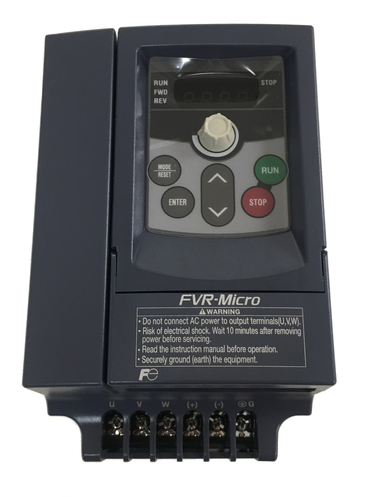 Fuji, FVR0.75S1S-4E, 1 HP, Variable Frequency Drive 460 Volt, 3 ...