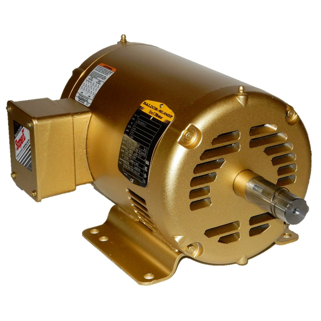5 Hp Electric Motor Single Phase 184t