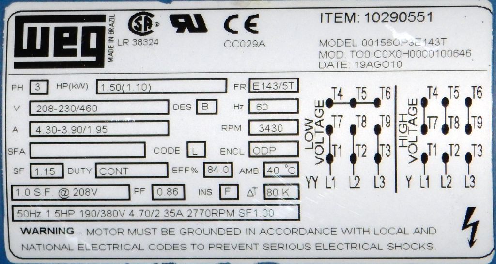 00156OP3E143T-Dealers Electric-00156OP3E143T