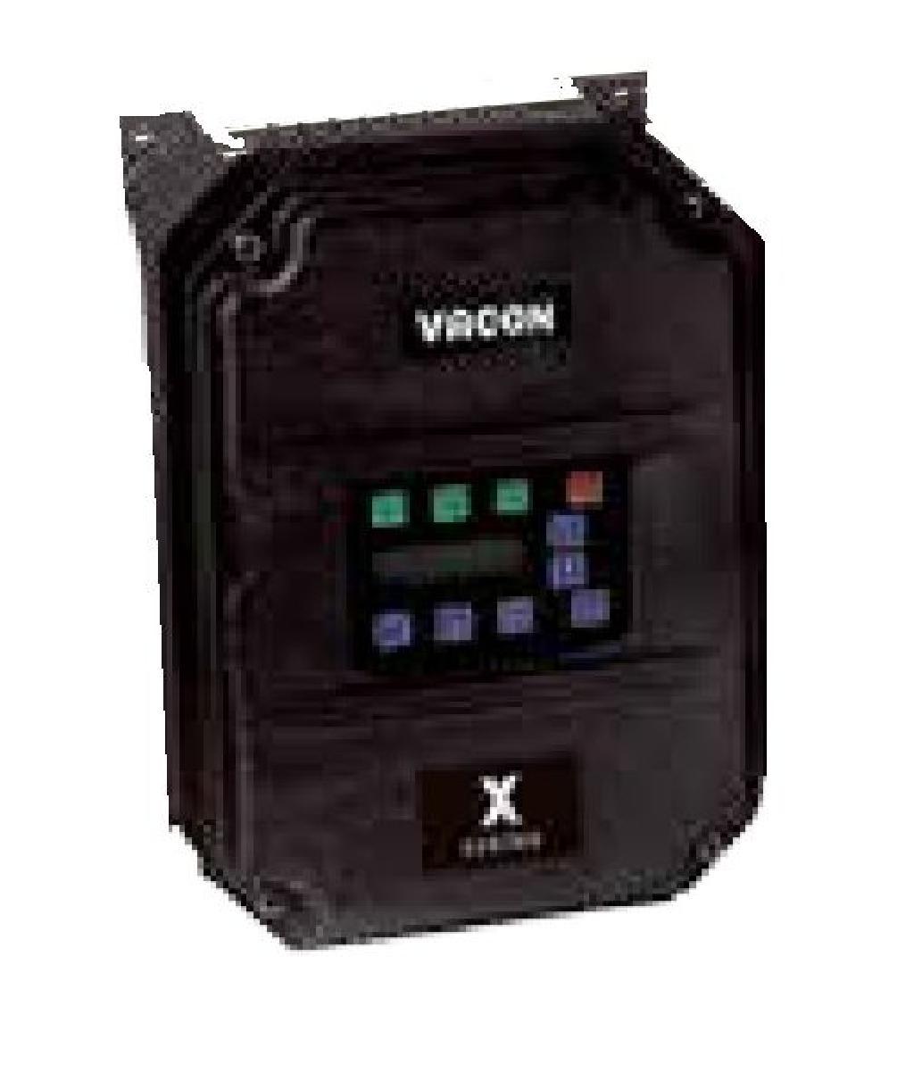 3 HP, VFD, 460 Volt, 3 Phase, NEMA 4X, T1, Danfoss, VACONX4C40050C