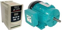 .75 HP 1800 RPM 115 Volts Input Package--Dealers Industrial Equipment-Brook Motor/Teco Drive