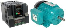 .75 HP 1800 RPM 115 Volts Input Package-Dealers Industrial Equipment-Brook Motor/Teco Drive