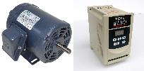 .33 HP 1800 RPM 115 Volts Input Package--Techtop Motor/Teco Drive-Dealers Industrial