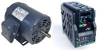 .33 HP 1800 RPM 115 Volts Input Package-Techtop Motor/Teco Drive-Dealers Industrial