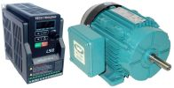.33 HP 3600 RPM 230 Volts Input Package-Dealers Industrial Equipment-Brook Motor/Teco Drive
