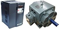 15 HP 1800 RPM 460 Volts Input Package-Dealers Industrial Equipment-G.E. Motor/Teco Drive