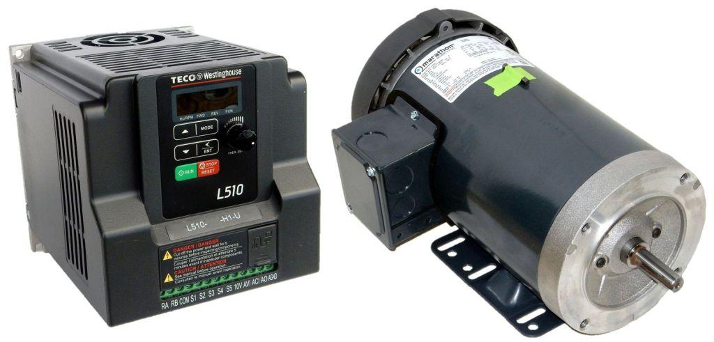 Package-K806A-and-L510-202-H1-U-Marathon Motor/Teco Drive-Dealers Industrial
