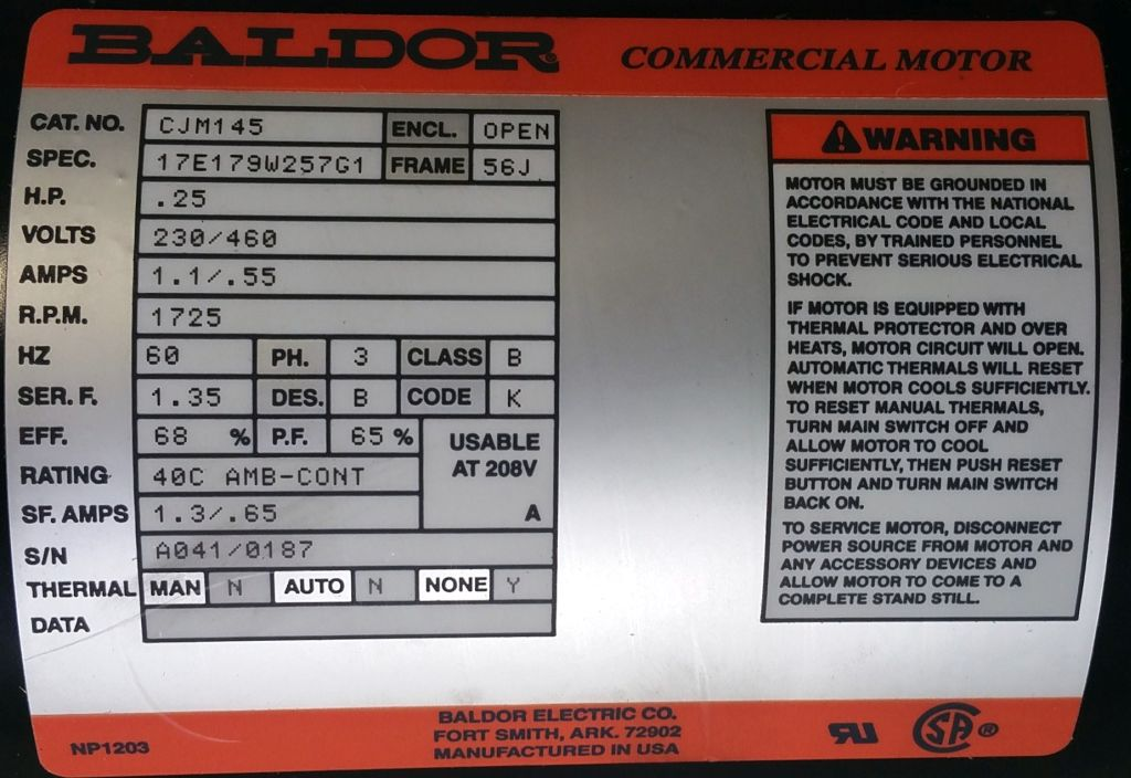 CJM145-Baldor-Dealers Industrial