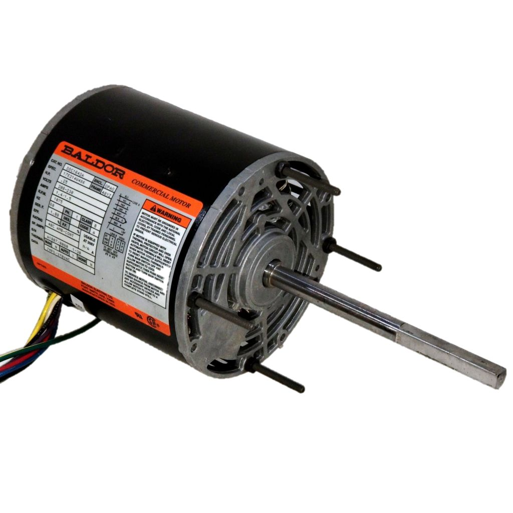 Baldor Electric Motors At Dealers Industrial Equipment High Voltage And Low Wiring Ddc1642a