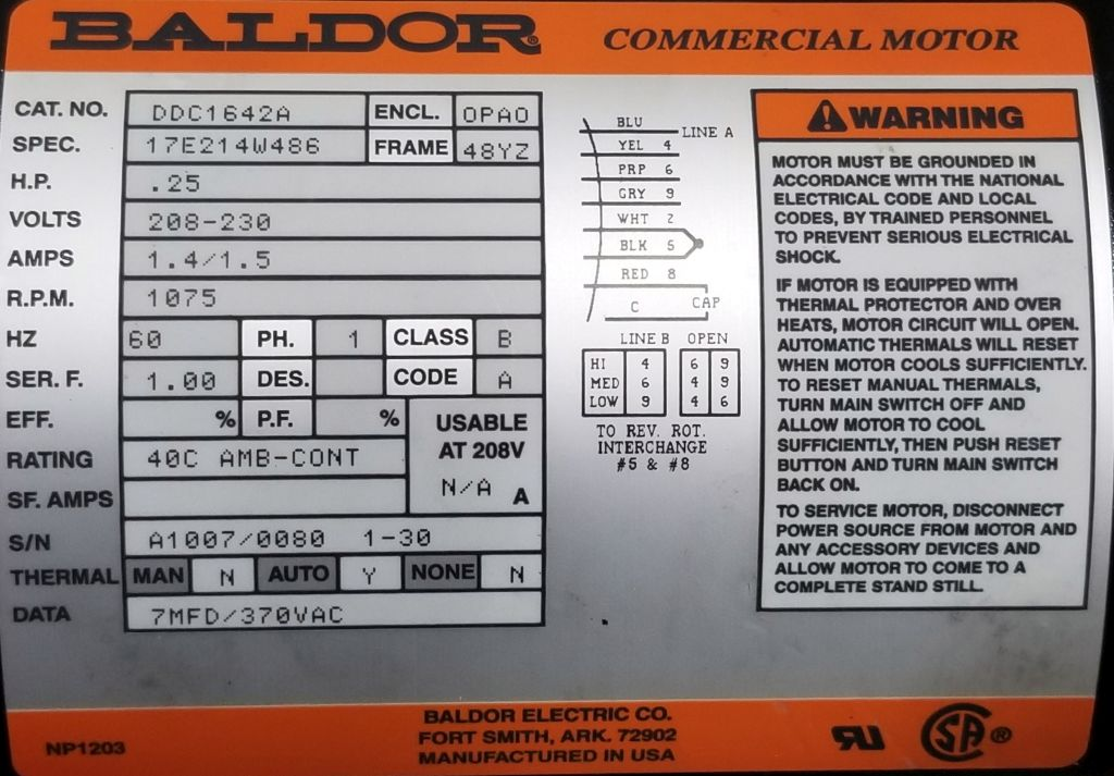 DDC1642A-Baldor-Dealers Industrial