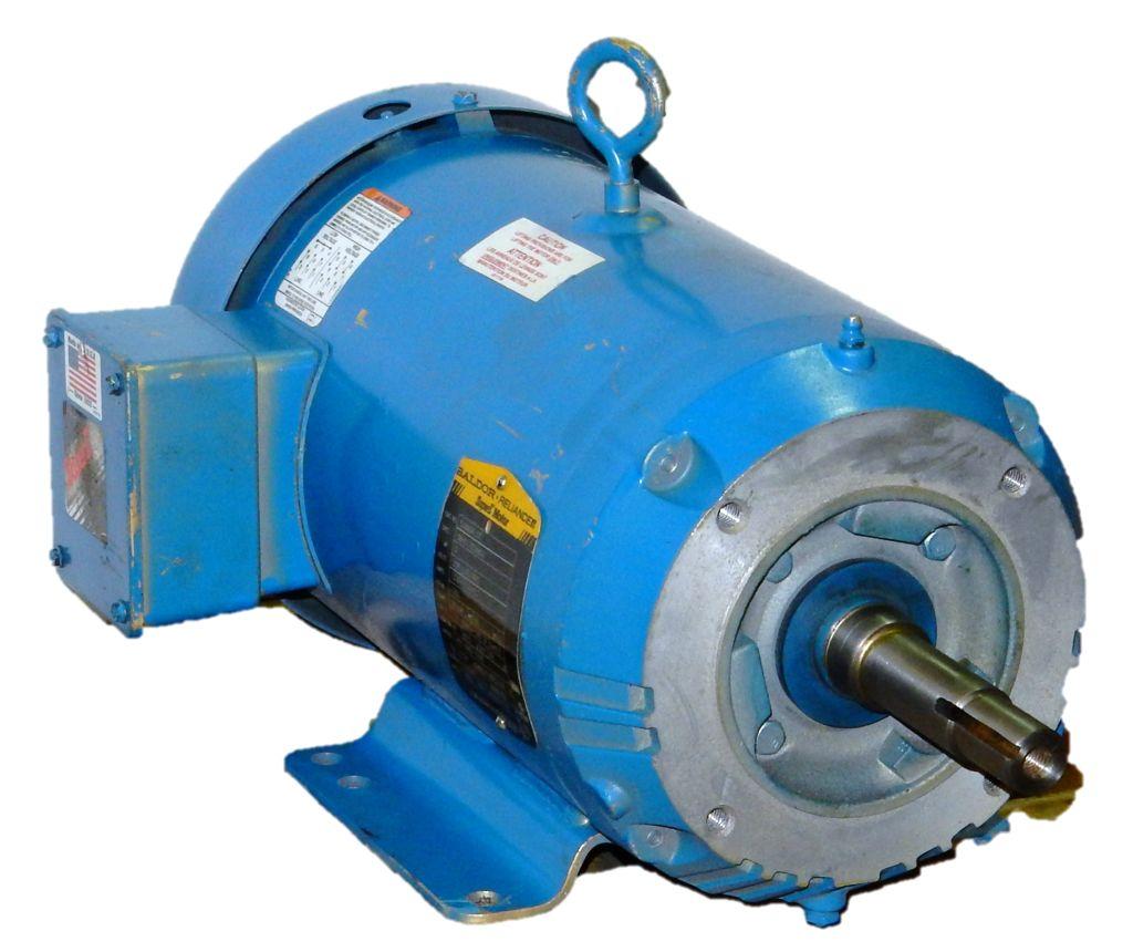 Baldor ejmm3615t 5 hp 1800 rpm 208 230 460 volts 3 for 5 hp 1800 rpm motor