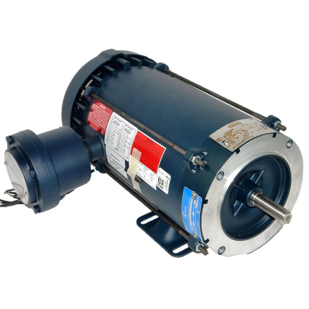 Leeson, 117851 00, 1 5 HP, 1800 RPM, 230/460 Volts, XPFC, 56C, New Surplus  Electric Motor at Dealers Industrial