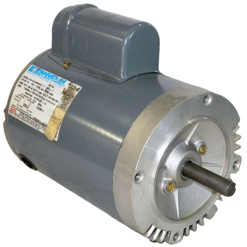 Marathon electric 56c28d5502 1 hp 3000 rpm 50hz 100 for 240 volt electric motors
