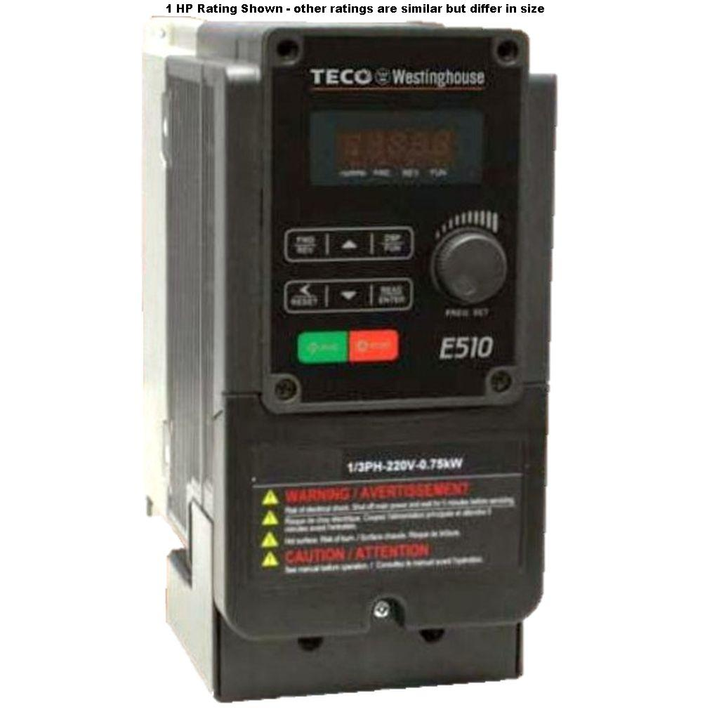 E510-205-H3-U-Teco-Dealers Industrial
