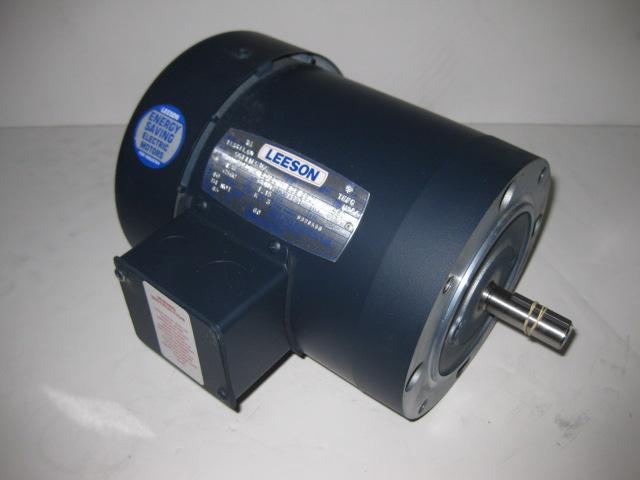 Leeson Hp 1200 Rpm 208 230 460 Volts 3