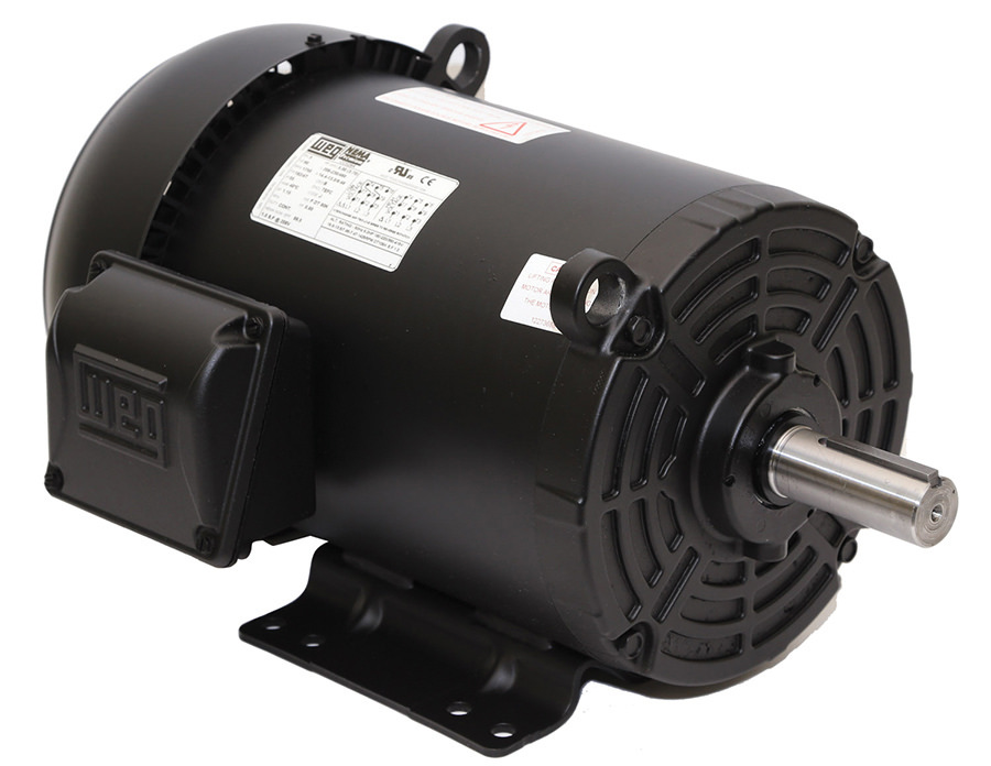 Weg 00118et3e143t S 1 Hp Tefc Factory New Motor At Dealers