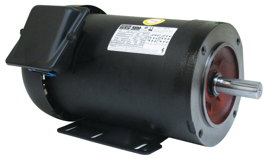 Weg 01536et3e215tc W22 15 Hp Tefc Factory New Motor At