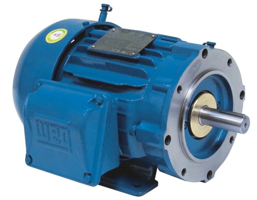 weg 03018st3qie286tcw22 30 hp tefc factory new motor at dealers industrial