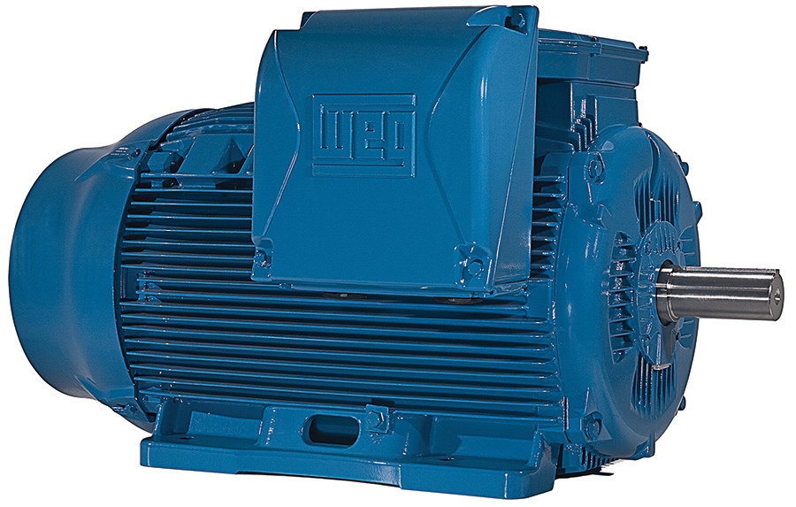 WEG 20018ET3GRB447T-W22 200 HP TEFC Factory New Motor at Dealers ...