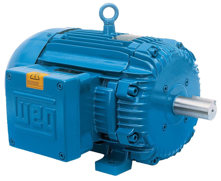 WEG 00518XT3E184T 5 HP XPFC Factory New Motor at Dealers Industrial