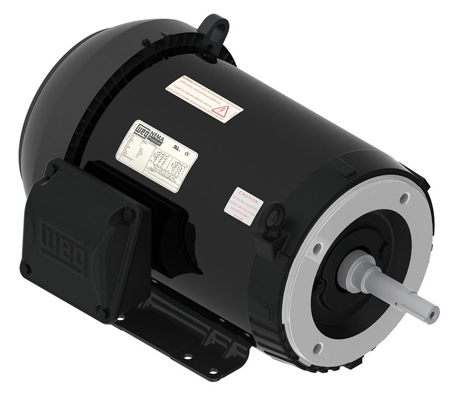 Weg 00336et3e182jp S 3 Hp Tefc Factory New Motor At