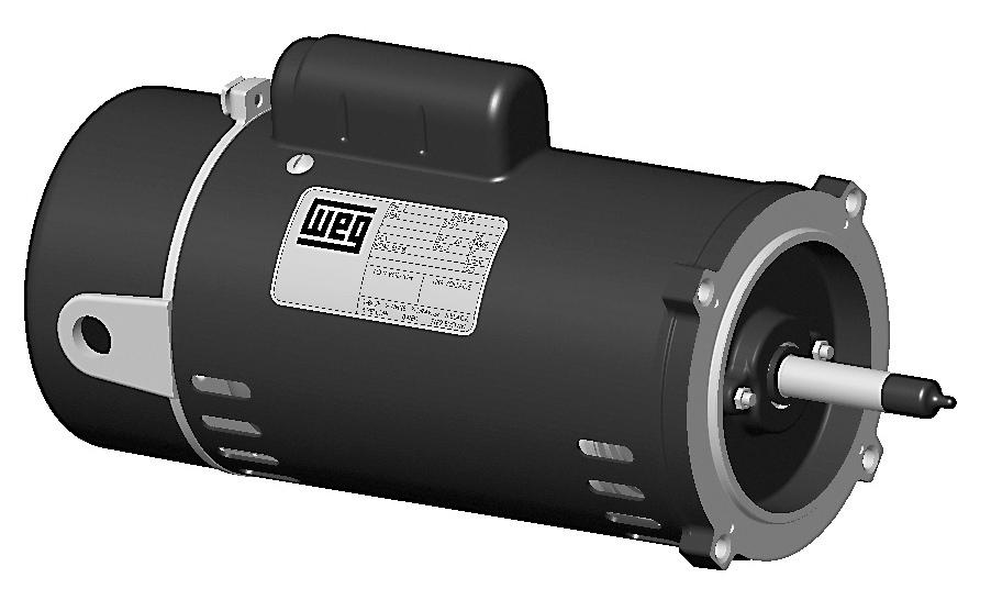 Weg Pcj110h 1 Hp Odp Factory New Motor At Dealers Industrial