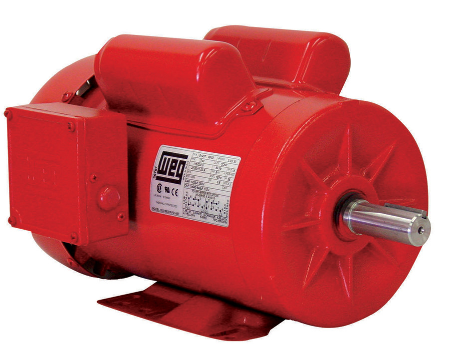 Weg 00118es1rfdd56 1 Hp Tefc Factory New Motor At Dealers