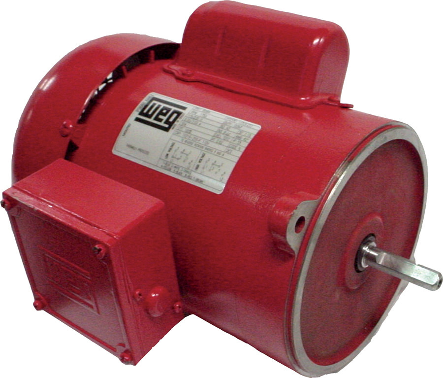 Weg 3318es1radb56n Hp Tefc Factory New Motor At