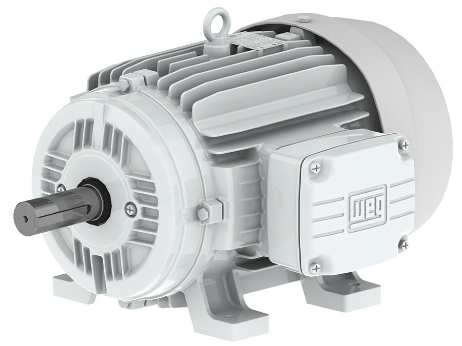 Weg 00512es3eow215t 5 Hp Tefc Factory New Motor At Dealers