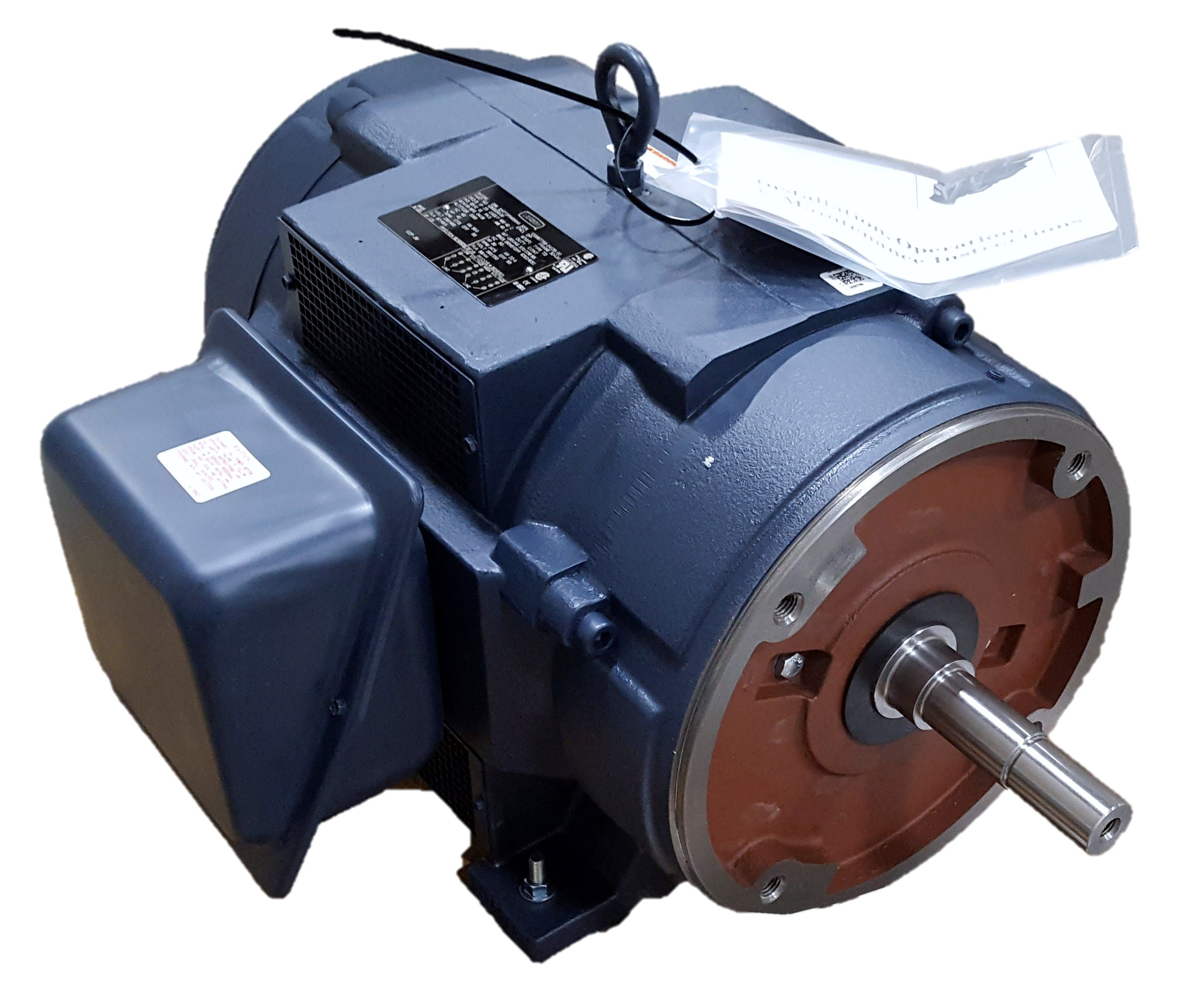 Leeson 40 hp 1800 rpm 230 460 volts 3 for 40 hp 3 phase electric motor