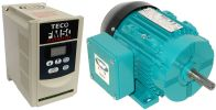 .50 HP 1800 RPM 115 Volts Input Package~-Dealers Industrial Equipment-Brook Motor/Teco Drive