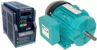 .50 HP 1800 RPM 115 Volts Input Package--Dealers Industrial Equipment-Brook Motor/Teco Drive