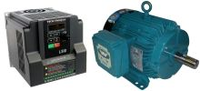 3 HP 3600 RPM 230 Volts Input Package-Dealers Industrial Equipment-Brook Motor/Teco Drive