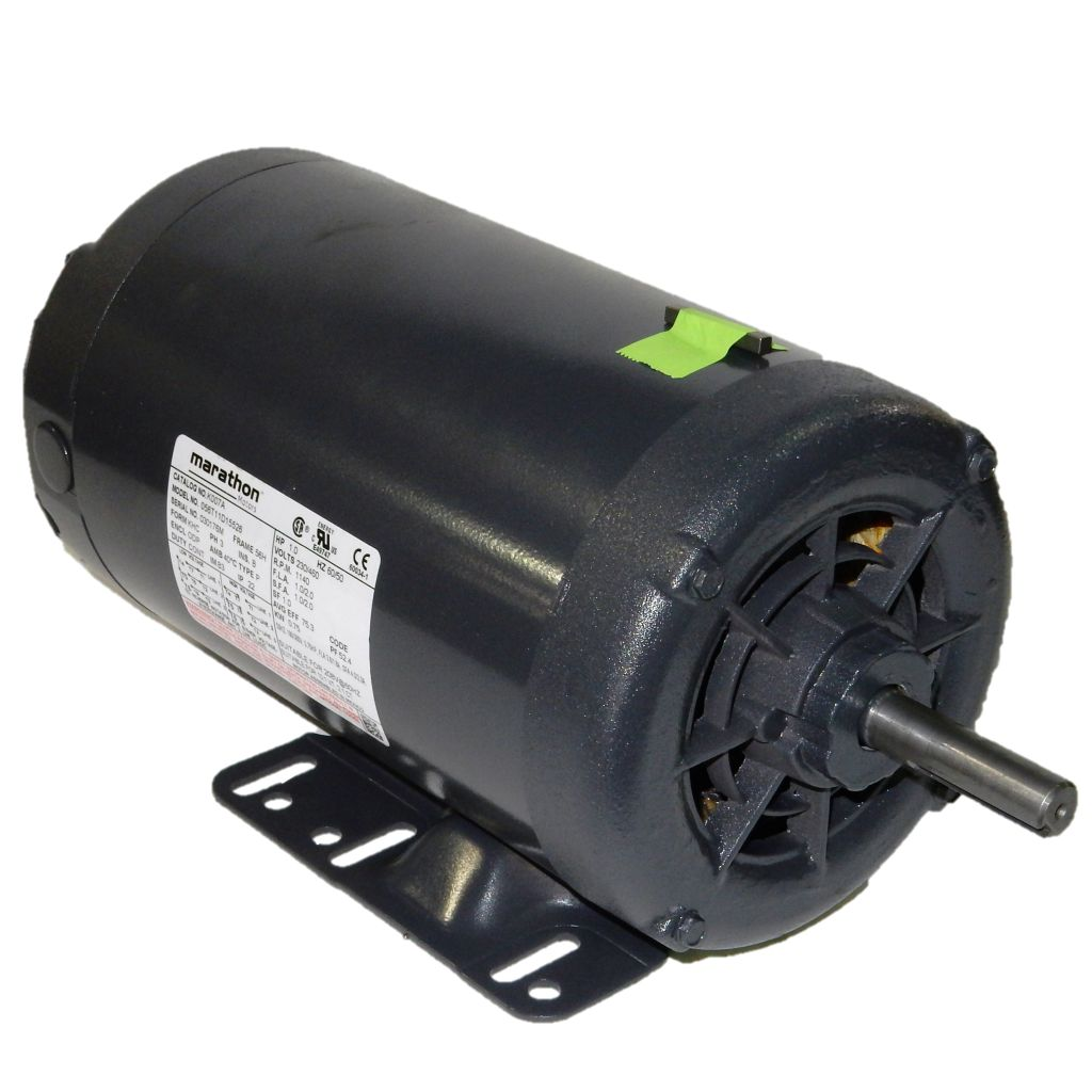 Marathon Electric 056t11d15526 1 Hp 1200 Rpm 230 460 Volts Odp Electronics Dealers