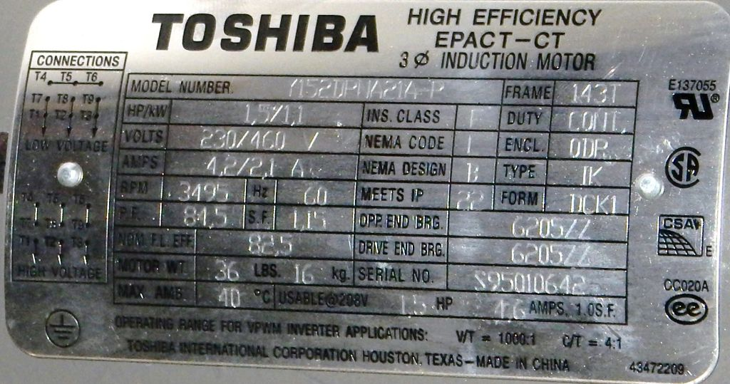 Y152DPNA21A-P-Dealers Industrial-Toshiba