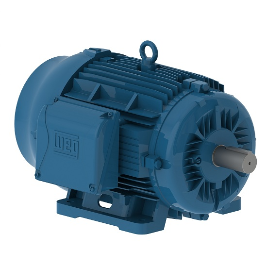 Weg 05018ET3V326T-W22G 50 HP 1800 RPM TEFC 326T Frame Factory New Motor at Dealers Industrial